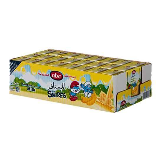 Picture of ABC Smurf Banana Milk 135 ML × 24 PC