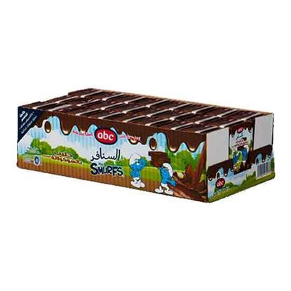 Picture of ABC Smurf Chocolate Milk 135 ML × 24 PC
