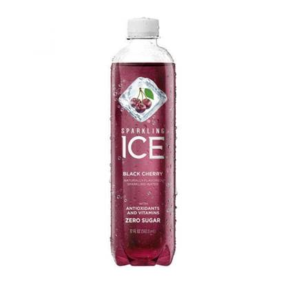 Picture of SPARKLING ICE BLACK CHERRY ZERO SUGAR ( 502.8 ML * 24 Bottle )