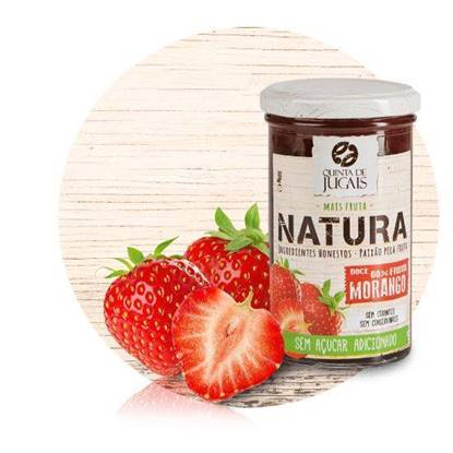 Picture of Quianta Natura No Sugar Strawberry Jam 300 GM