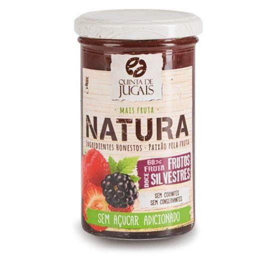 صورة مربى الناتورا بنكهة الفاكهة البرية 300 غرام ( من دون اضافة السكر)