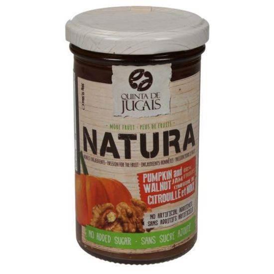 صورة مربى الناتورا بنكهة القرع و الجوز 300 غرام ( من دون اضافة السكر)