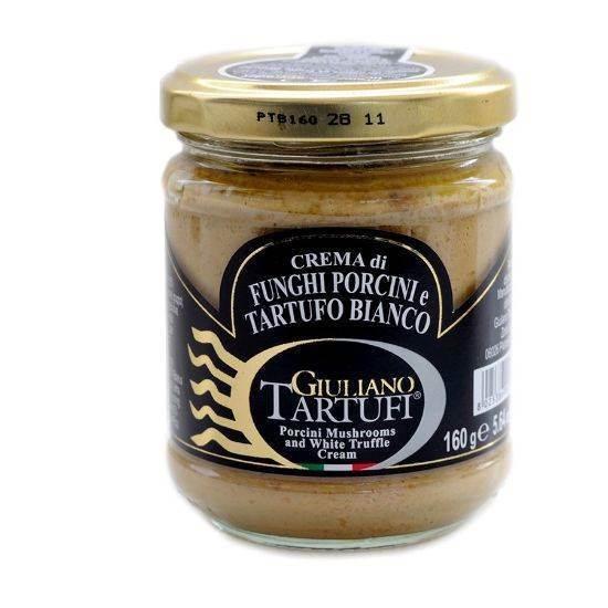 Picture of Giuliano Tartufi Porcini Mushrooms and White Truffle Cream 160 GM