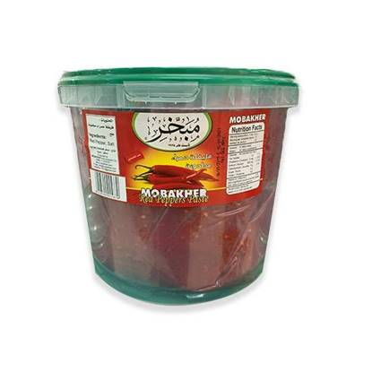 Picture of Mobakher Paste Red Pepper Pail 5Kg