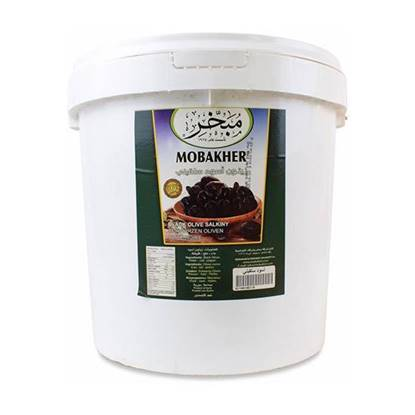 Picture of Mobakher Black Olives Second  10K