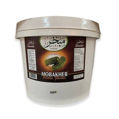 Picture of Mobakher Cucumber Pickles Gherkin 10Kg Indian