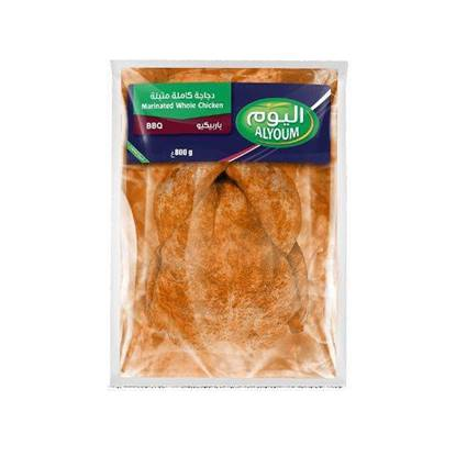 Picture of ALYOUM MARINATED WHOLE CHICKEN BBQ (800G)