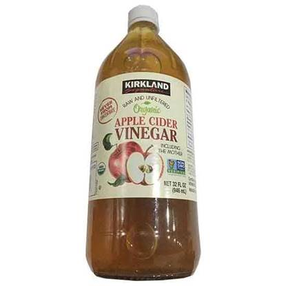 Picture of KIRKLAND ORGANIC APPLE VINEGAR 12*946 ML