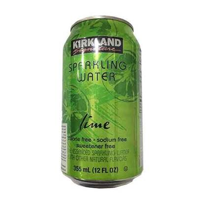 Picture of KIRKLAND CANNED SPARKLING WATER LIME 502.8 ML