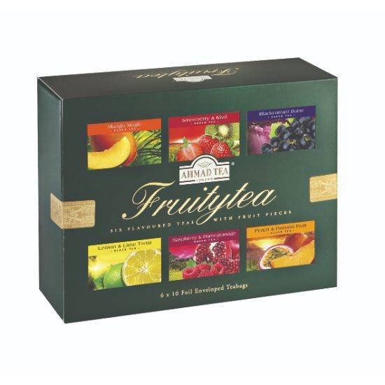 Picture of Ahmad Tea - Fruity Tea Selection 6 PKT x 10 TB