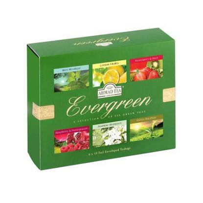 Picture of Ahmad Tea - Ever Green Selection 6 PKT x 10 TB