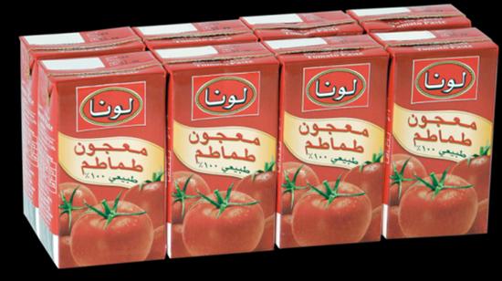 Picture of Luna Tomato Paste ( 48 Pack * 135 GM )