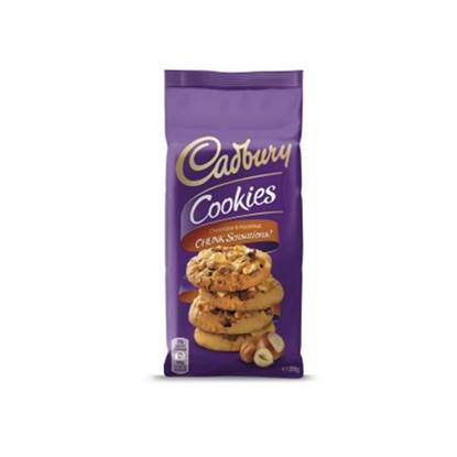 الصورة: Cadbury Chocolate & Hazelnut Chunk Cookies
