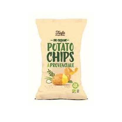 Picture of TRAFO ORGANIC POTATO CHIPS PROVENCALE 125 GM