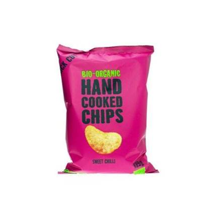 Picture of TRAFO ORGANIC HANDCOOCKED CHIPS SWEET CHILLI 125 GM