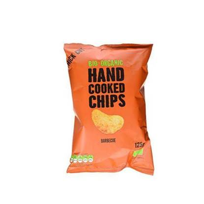 Picture of TRAFO ORGANIC HANDCOOKED CHIPS BARBECUE 125 GM