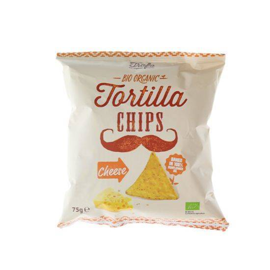 Picture of TRAFO ORGANIC TORTILLA CHIPS CHEESE 75 GM