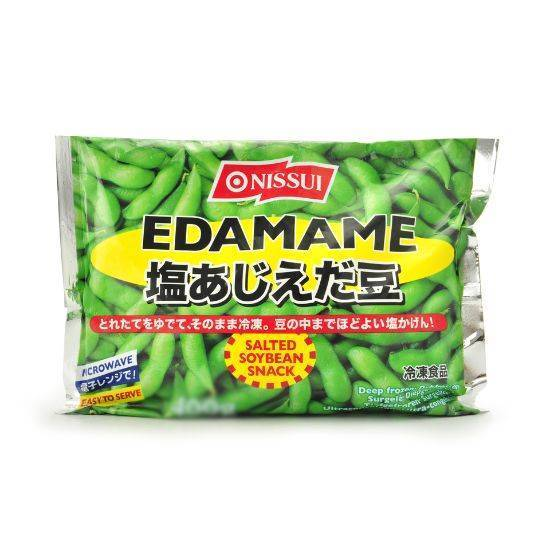 Picture of NISSUI EDAMAME IN POD ALL NATURAL 500 GM