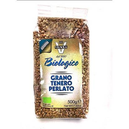 Picture of RISO VIGNOLA ORGANIC PEARLED WHEAT 500 GM