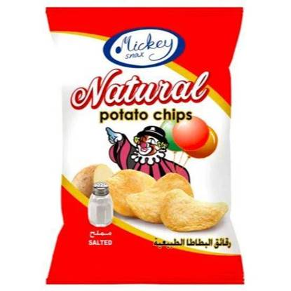 Picture of Mickey Potato Chips Salt 16 GM