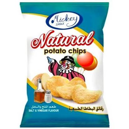 Picture of Mickey Potato Chips Salt & Vinegar 16 GM