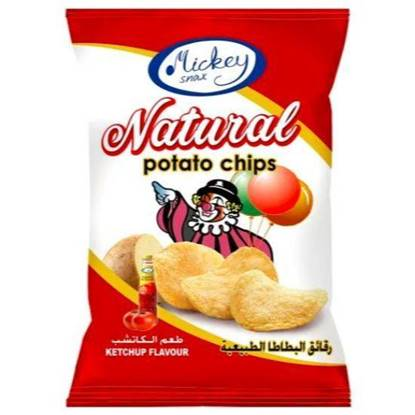Picture of Mickey Potato Chips Ketchup 16 GM