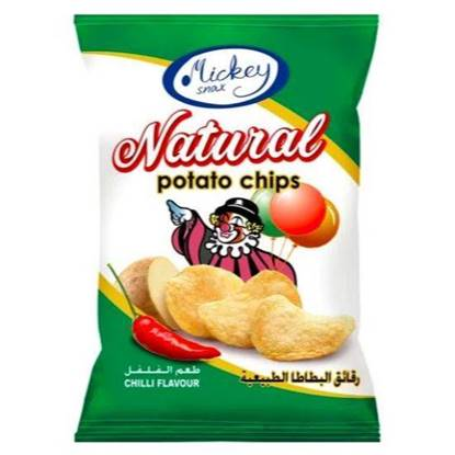 Picture of Mickey Potato Chips Chilli 16 GM