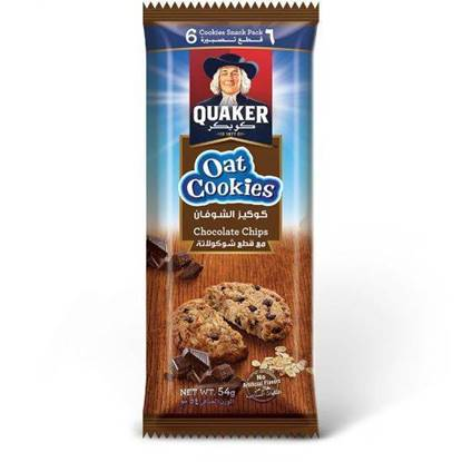 Picture of Quaker Oat Cookies Chocolate 54 GM