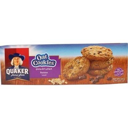 Picture of Quaker Oat Cookies Raisins 126 GM