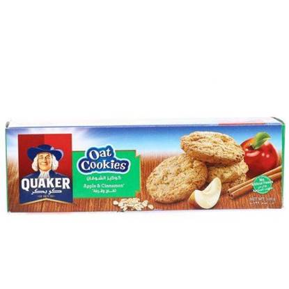 Picture of Quaker Oat Cookies Apple Cinnamon 126 GM