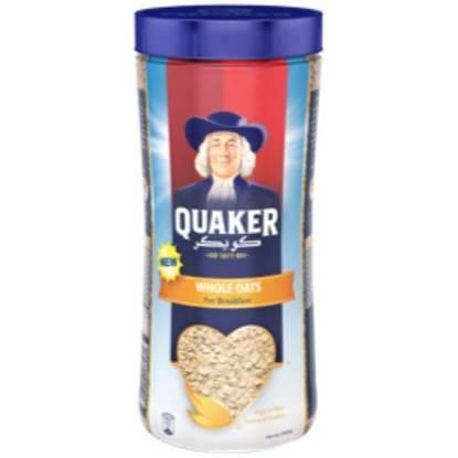 Picture of Quaker Whole Oats (Pet) 700 GM