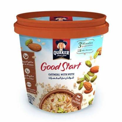 Picture of Quaker Good Start Oatmeal with Nuts 50 GM