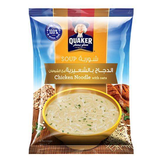 Picture of Quaker Chicken Noodles with Oats 54 GM