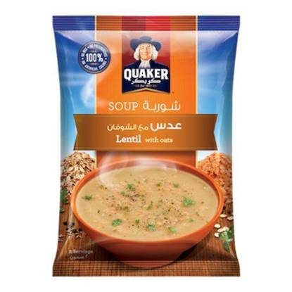 Picture of Quaker Lentil Soup with Oats 63 GM
