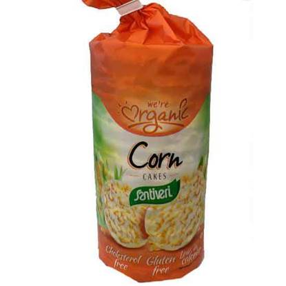 Picture of Santiveri Organic Corn Cakes 130 GM