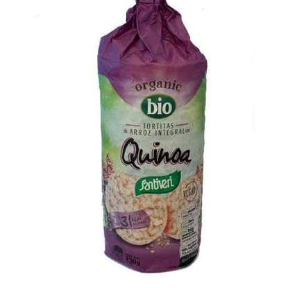 Picture of Santiveri Organic Rice Quinoa Cakes  130 GM