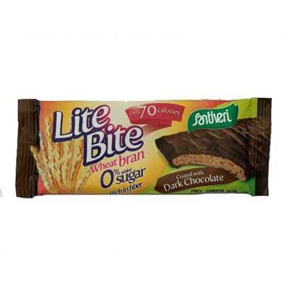 Picture of Santiveri Lite-Bite Dark Chocolate Sugar Free 17 GM