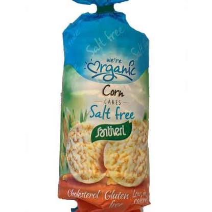 Picture of Santiveri Organic Salt Free Corn Cakes 140 GM