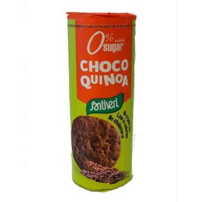 Picture of Santiveri Digestive Light Choco Quinoa 175 GM