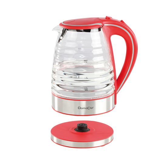 Picture of Domoclip Electric Glass Cordless Kettle Capacity1.7L-2200W