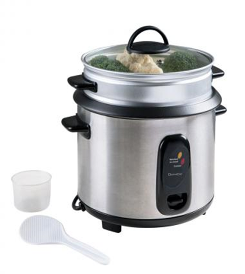 Picture of Domoclip Rice Cooker and Steamer Capacity 1.8 L-700W