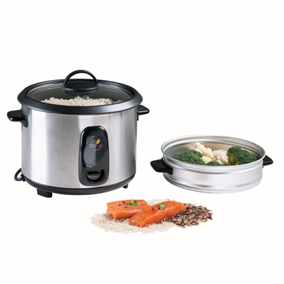 Picture of Domoclip Rice Cooker and Steamer Capacity 2.8 L-1000W