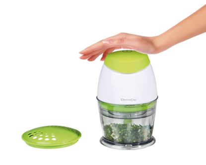 Picture of Domoclip Electric Mincer Green capacity 0.25 L -160W