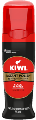Picture of Kiwi Shoe Polish Liquid Black 75 m*6