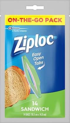 Picture of Ziploc Sandwich Bags 14