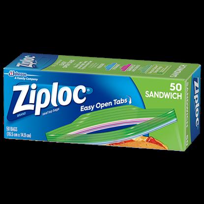 Picture of Ziploc Sandwich Bags 50
