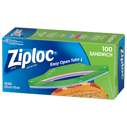 Picture of Ziploc Sandwich Bags 100