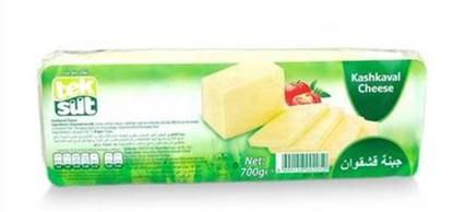 Picture of TekSut Cheese Kashkaval (Kasar )( 12 Pieces*700 GM )