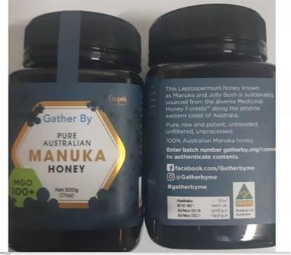 الصورة: مانوكا عسل نحل طبيعي 100% استرالي -500جم*12