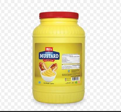 Picture of MJS Yellow Mustard- Gallon*4